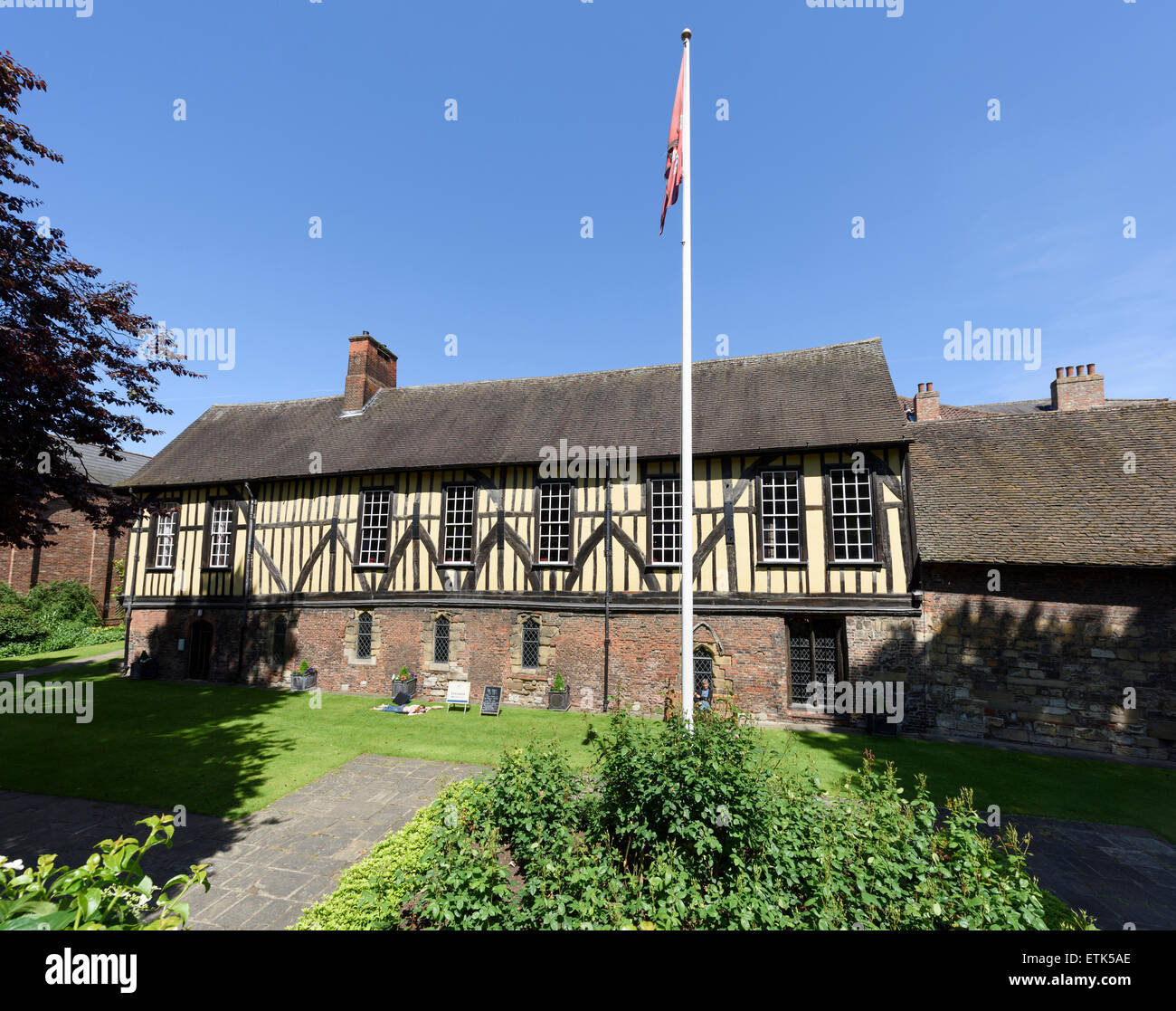 Merchant Adventurers' Hall, Fossgate, York - Stock Image