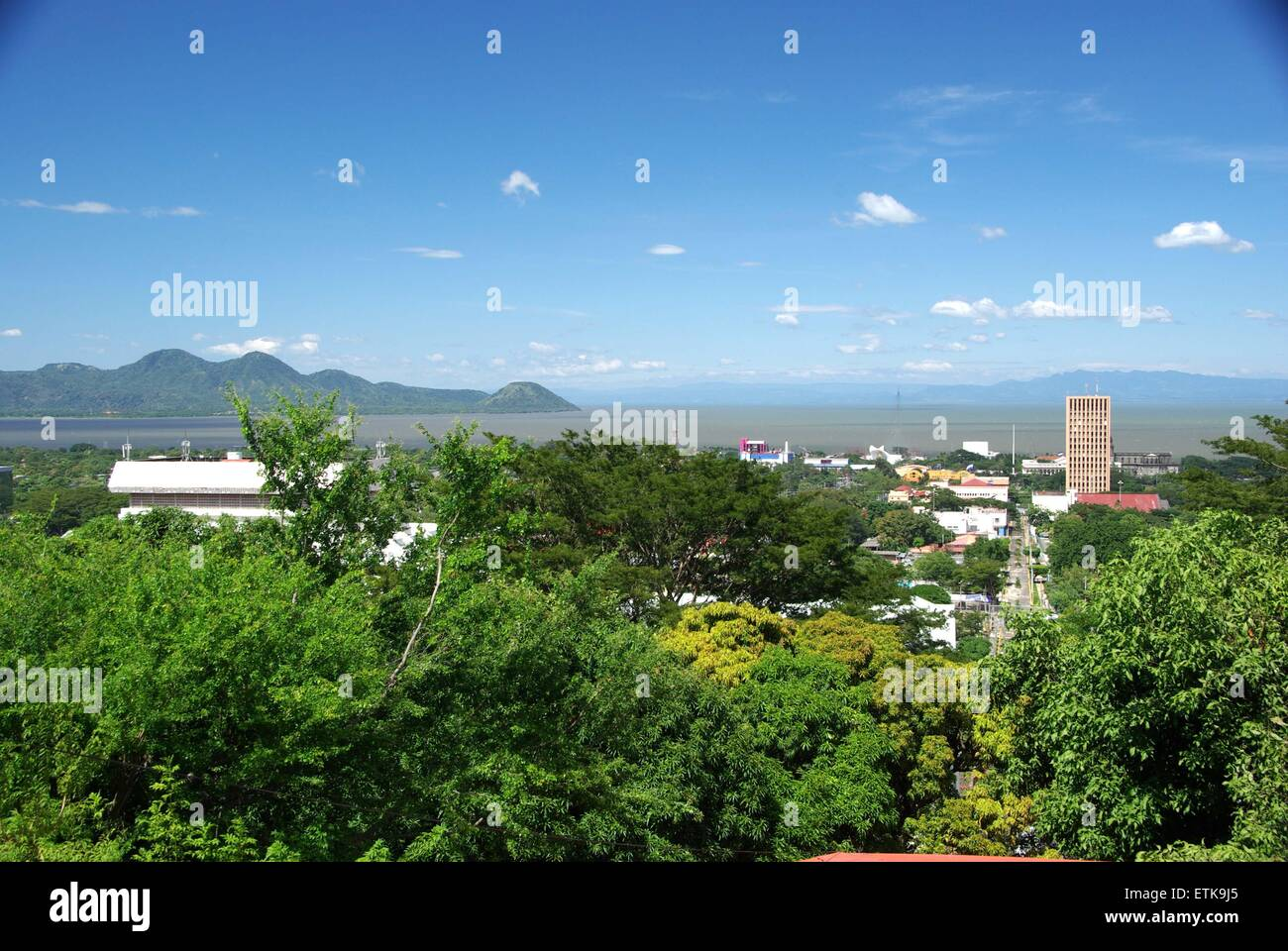 Managua, Nicaragua Stock Photo