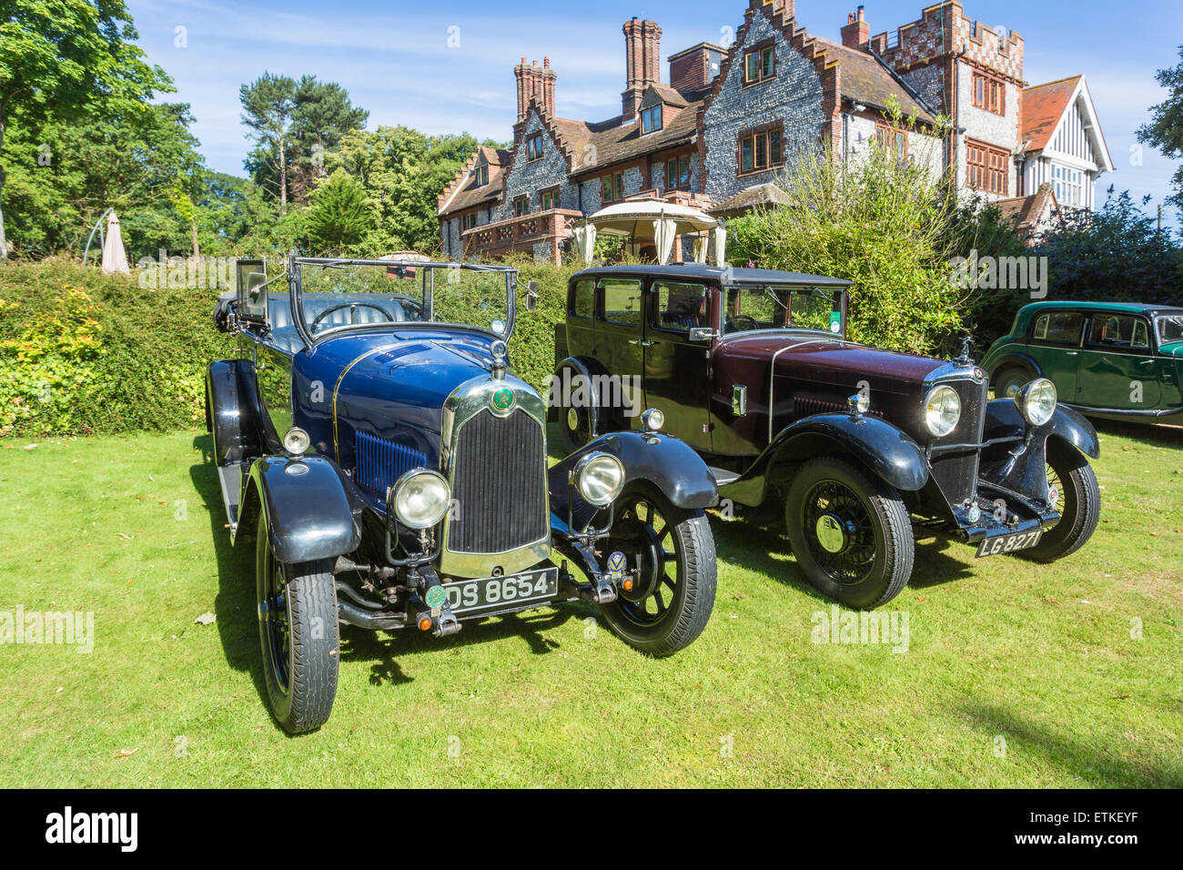 English Classic Cars Stock Photos & English Classic Cars Stock ...