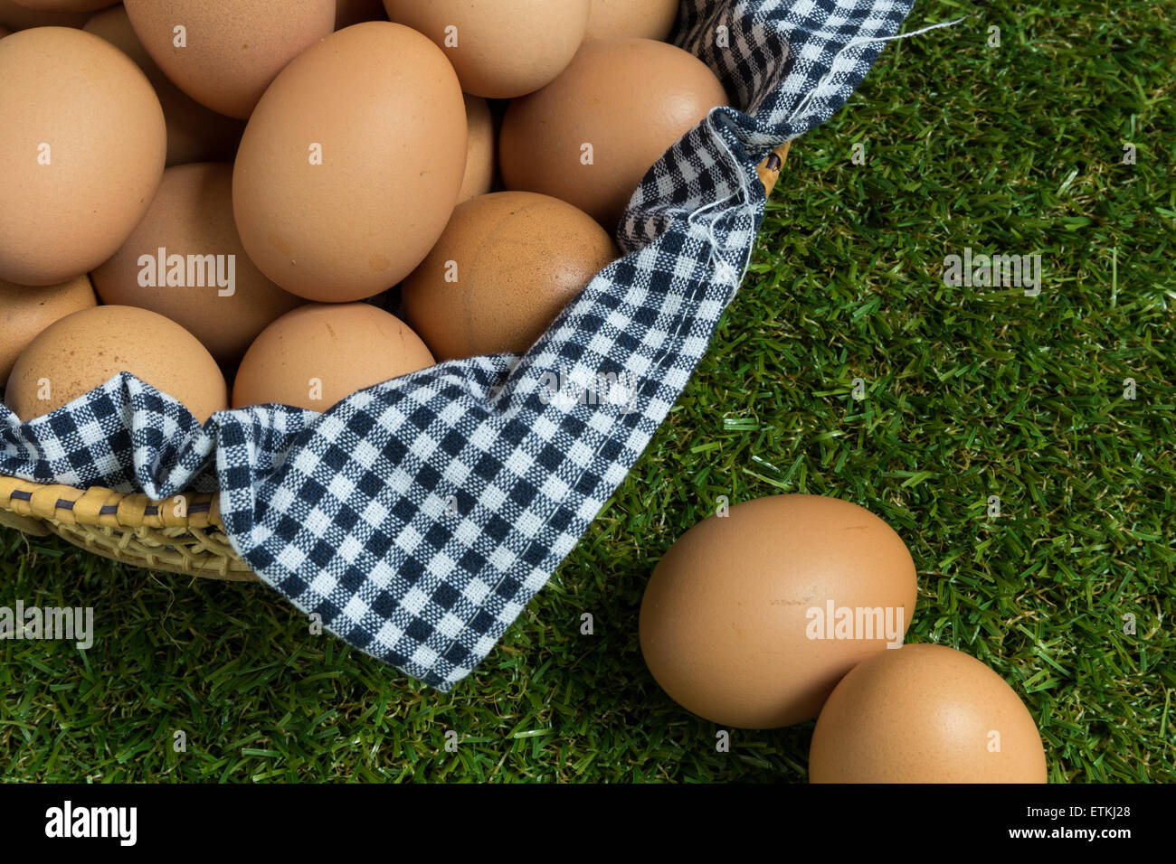 Business Concept Illustrated by Eggs. - Stock Image
