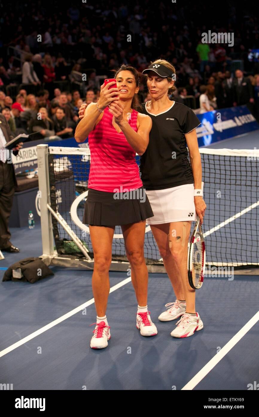 Bnp Paribas Showdown At Madison Square Garden Featuring Gabriela Stock Photo 84031649 Alamy