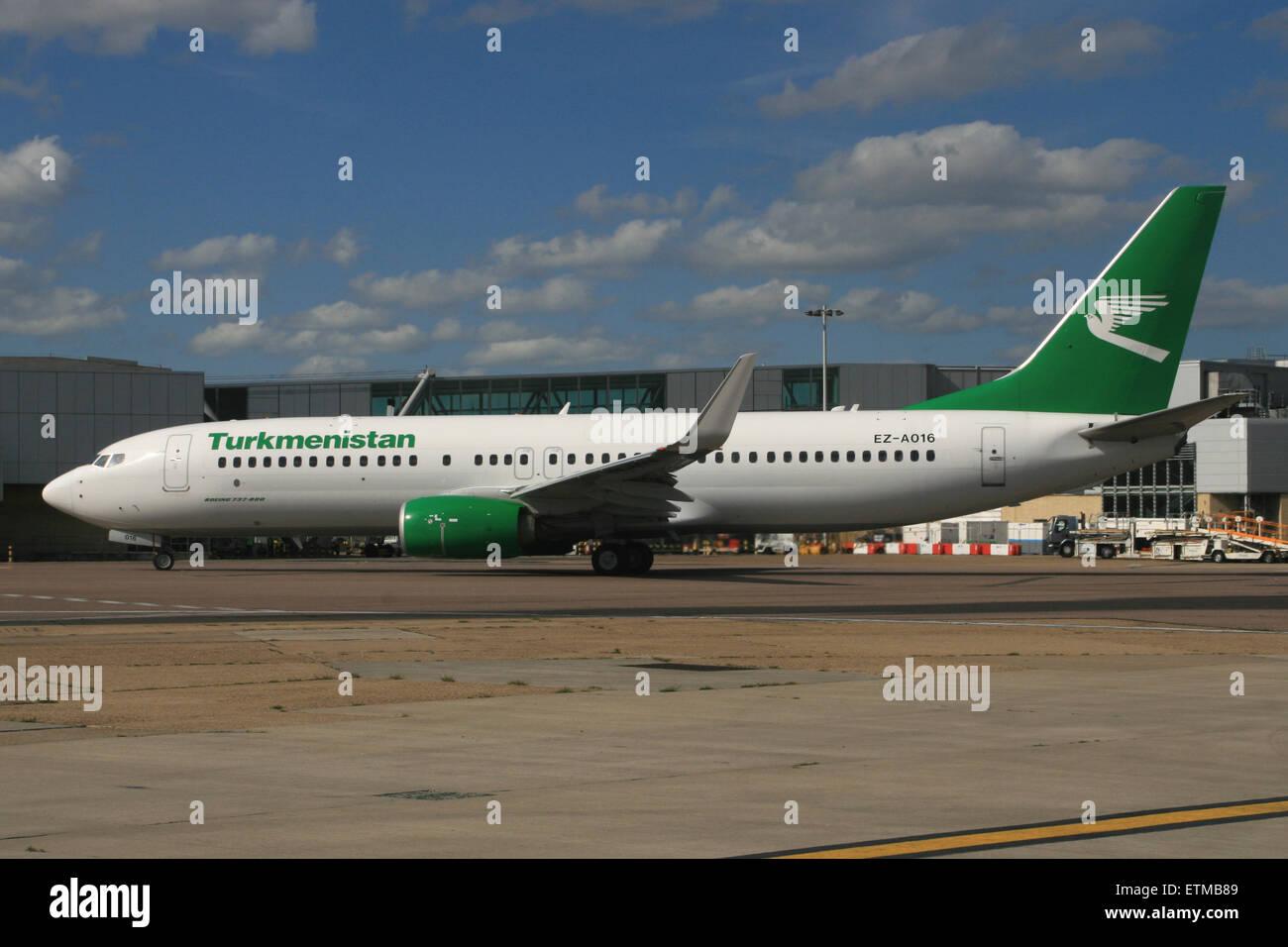 turkmenistan 737 - Stock Image