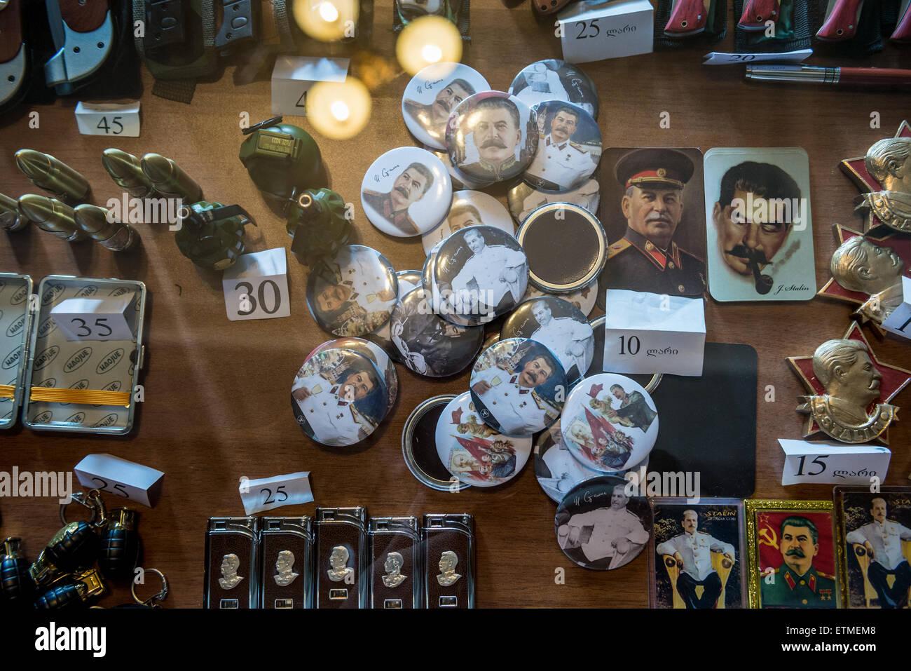 Georgian Souvenirs Stock Photos Georgian Souvenirs Stock: Souvenir Shop In Joseph Stalin Museum In Gori Town