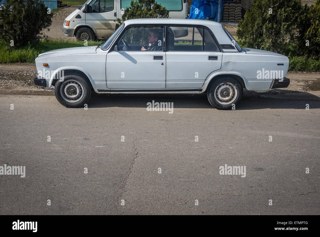 Lada 1600 car (VAZ 2106) in Tbilisi, capital of Georgia