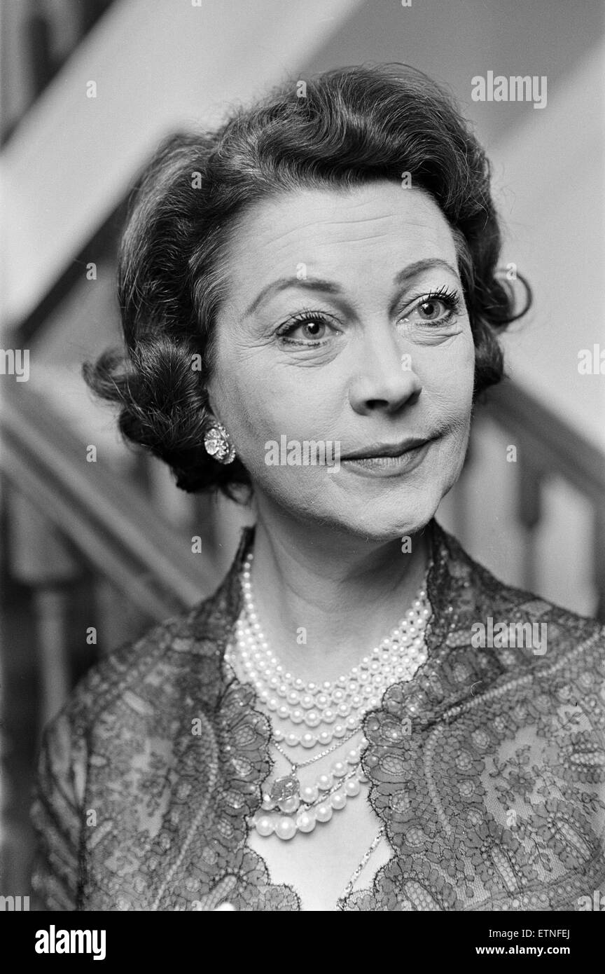 Vivien Leigh, stage and film actress, 3rd February 1965 ...Isabel Jeans And Vivien Leigh