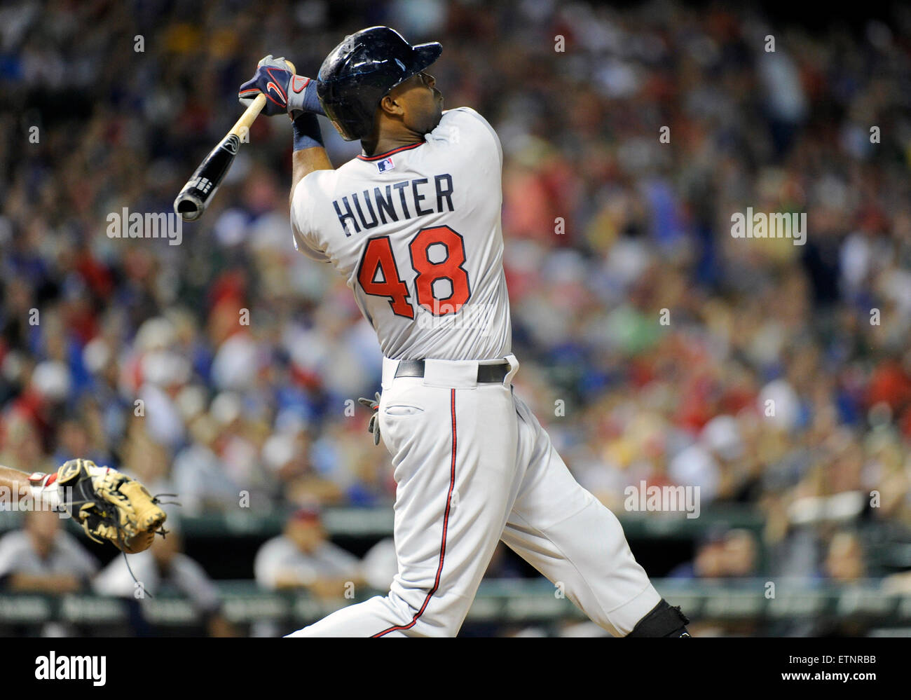 jun 12, 2015: minnesota twins right fielder torii hunter #48 during