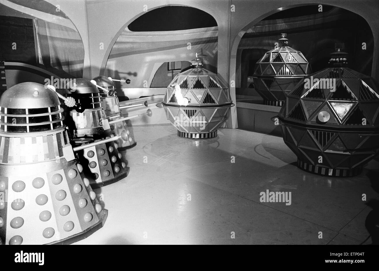 Doctor Who, TV Series, Scene from story called  'The Chase', eighth series, season 2. Pictures show the - Stock Image