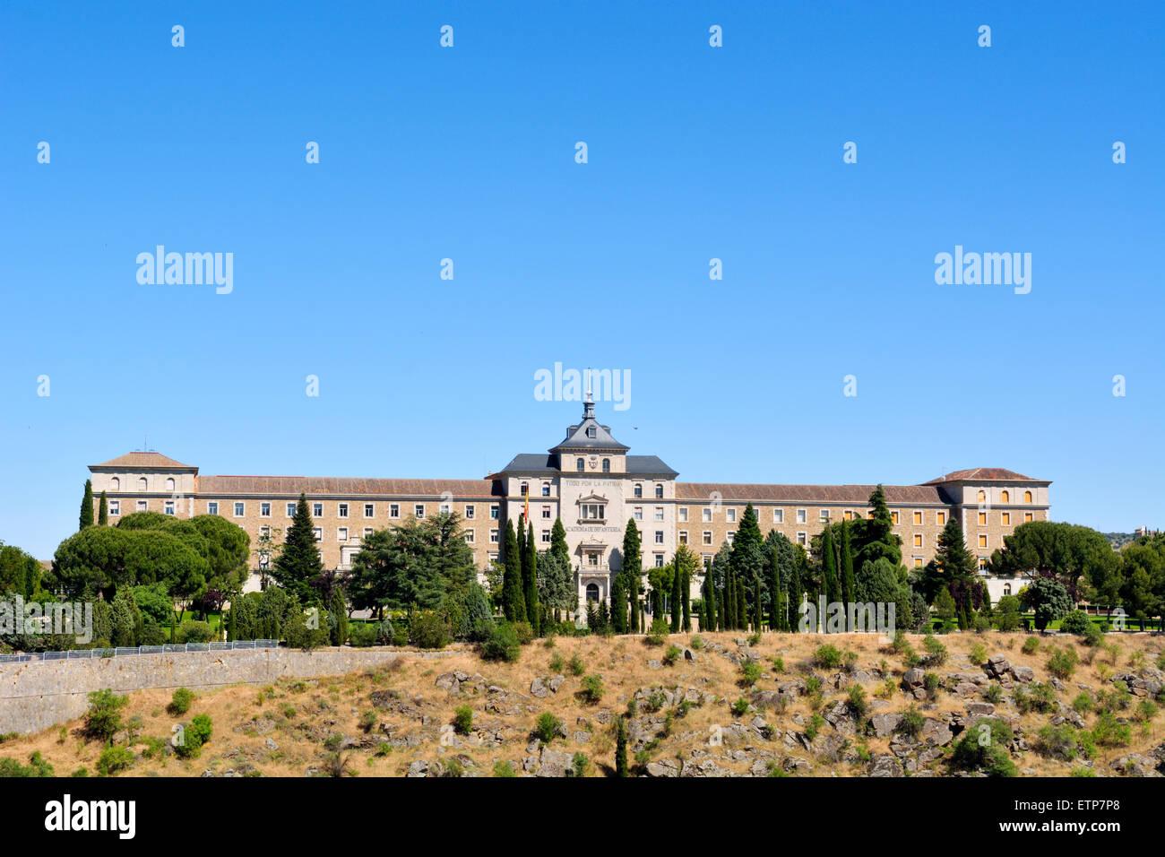 Academia de Infanteria on San Blas hill, Toledo, Spain - Stock Image