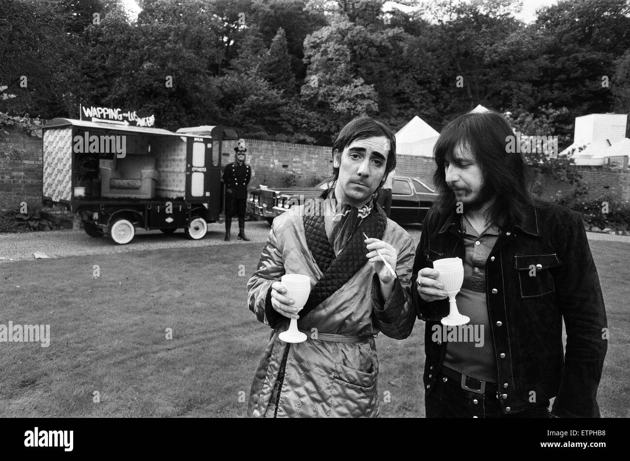 John Entwistle And Keith Moon Of The Rock Group The Who