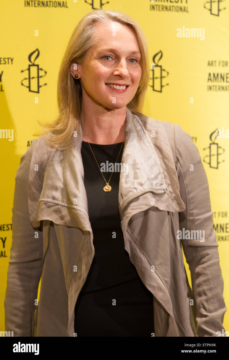amnesty international s 50th annual general meeting arrivals stock