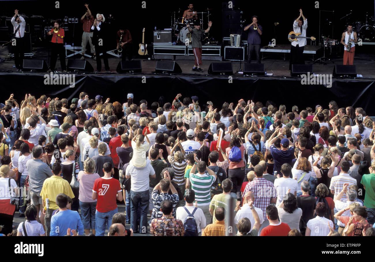 BEL, Belgium, Eastbelgium, Eupen, the open air music