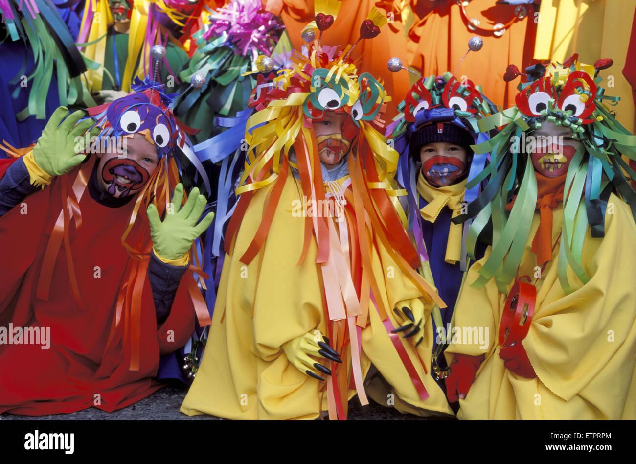 BEL, Belgium, Eastbelgium, Eupen, carnival, carnival monday.  BEL, Belgien, Ostbelgien, Eupen, Karneval, Rosenmontag. Stock Photo