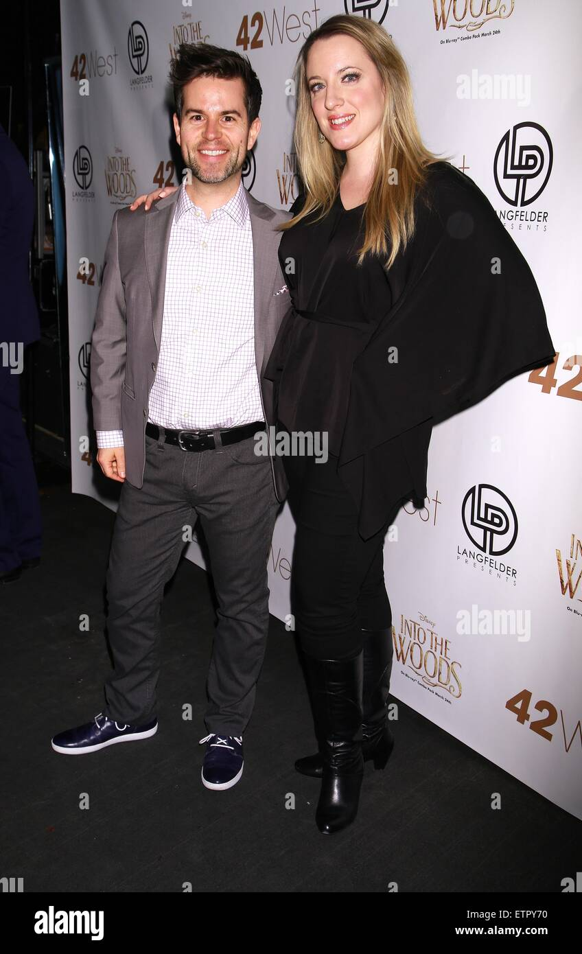 Disney celebrates Stephen Sondheim and 'Into The Woods' in-home release held at 42 West club - Arrivals - Stock Image
