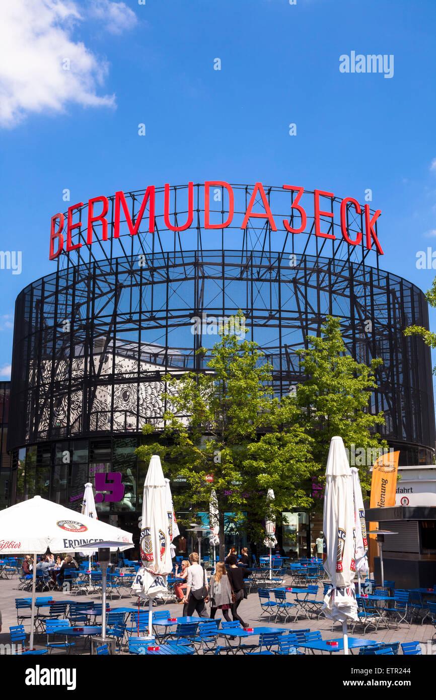 Europa, Deutschland, Nordrhein-Westfalen, Ruhrgebiet, Bochum, Szeneviertel Bermudadreieck, Kortumstrasse, Ausgehviertel Stock Photo