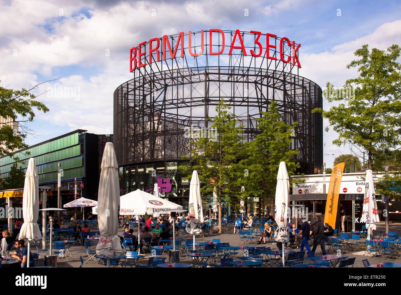 Europa, Deutschland, Nordrhein-Westfalen, Ruhrgebiet, Bochum, Szeneviertel Bermudadreieck, Kortumstrasse, Ausgehviertel - Stock Image