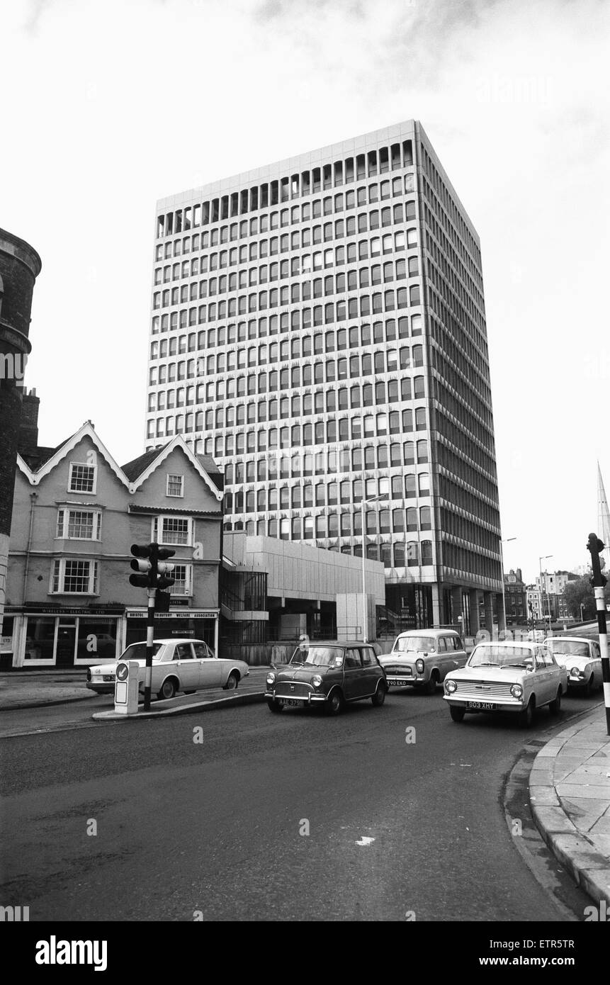 ES & A Robinson's Headquarters and Bristol's first skyscraper at One Redcliffe Street, Bristol 30th - Stock Image