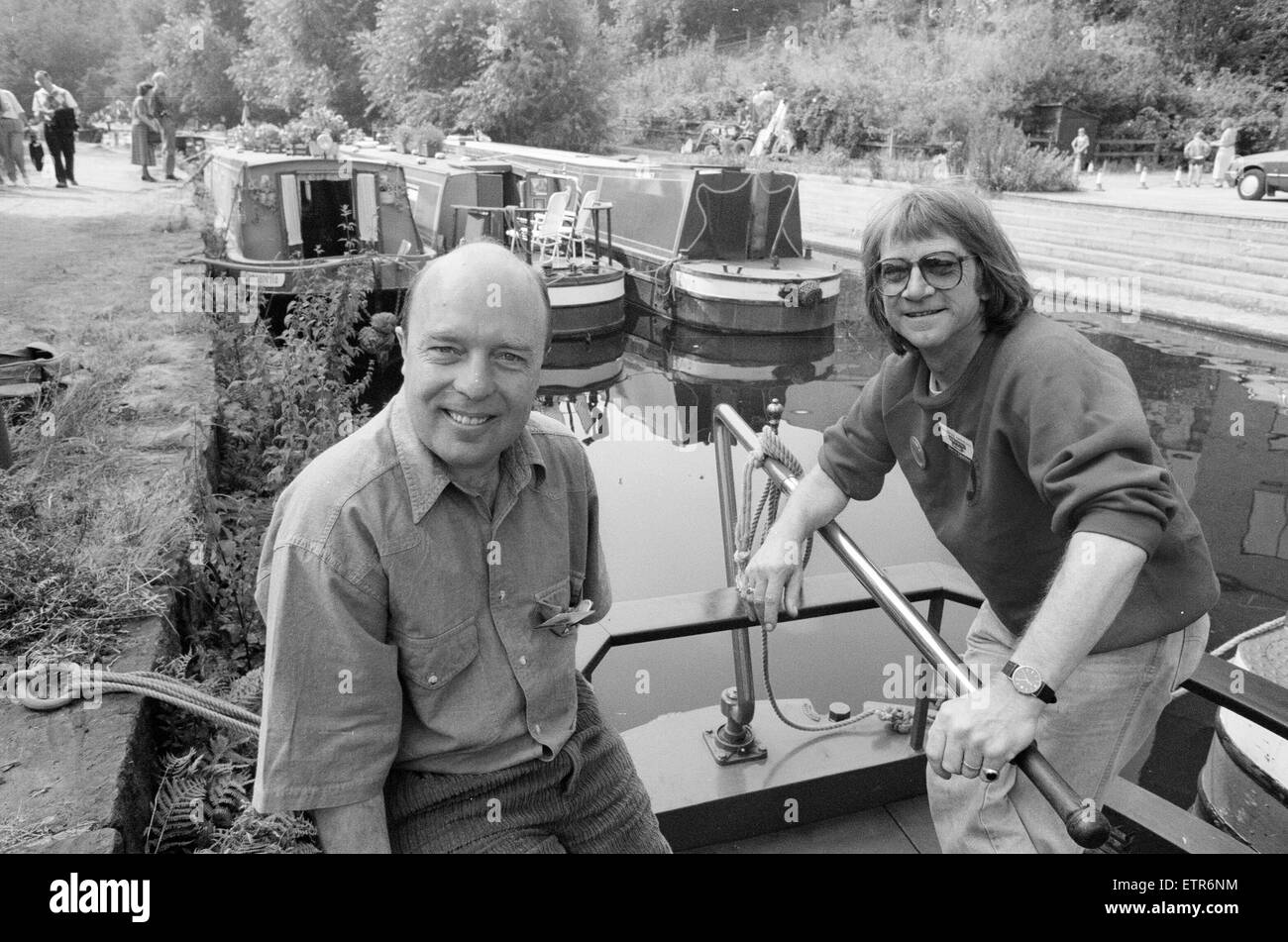Huddersfield canal festival. 2nd September 1991. - Stock Image