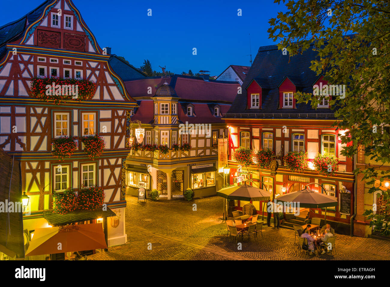 Germany Hesse Taunus German Timber Frame Stock Photos & Germany ...
