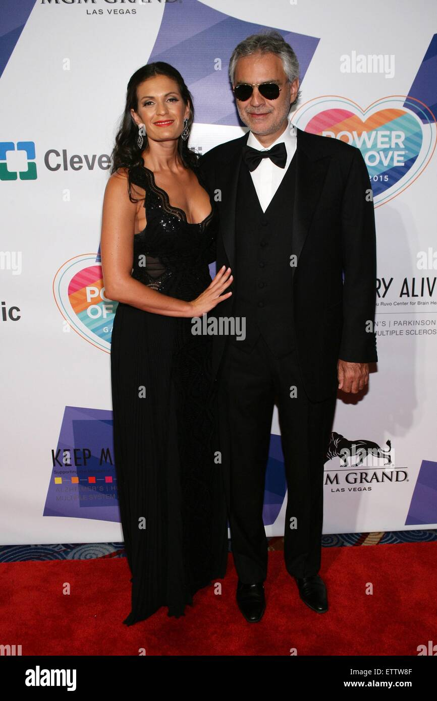 Veronica Bocelli, Andrea Bocelli at arrivals for Keep Memory