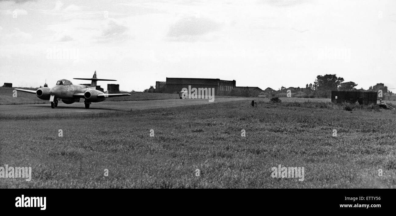 Thornaby RAF Station, Thornaby, 18th August 1958. - Stock Image