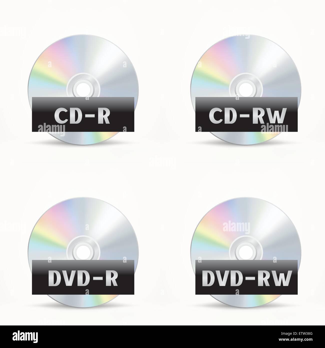 CD-DVD icon - Stock Vector