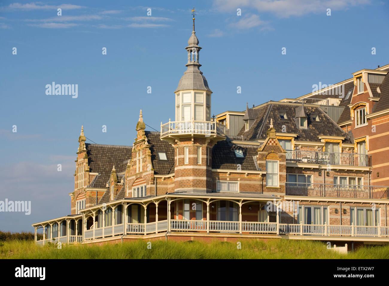 Europe, Netherlands, Zeeland, Domburg on the island Walcheren, the Badpaviljoen [In former days this building served - Stock Image