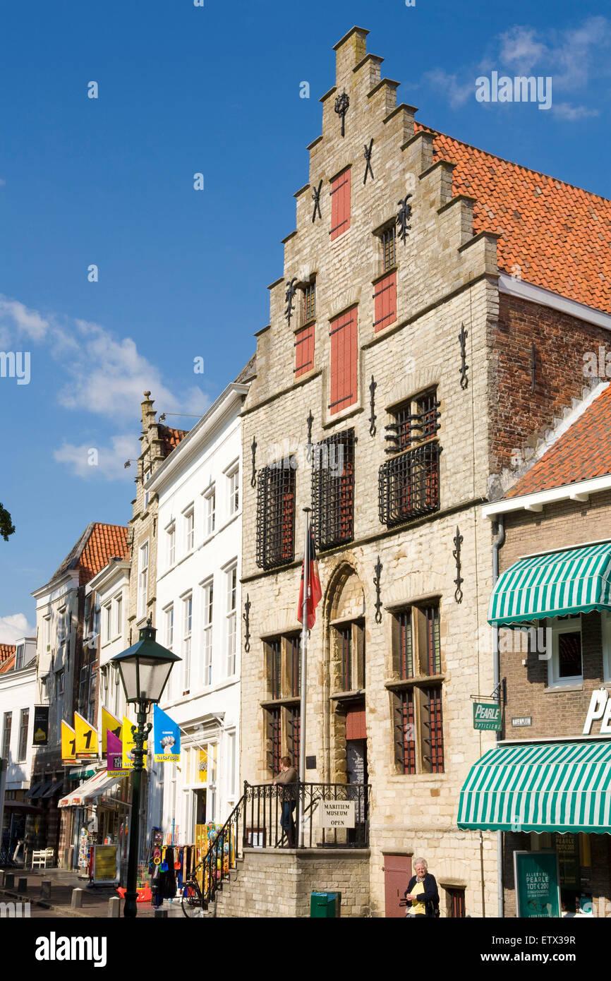 Europe, Netherlands, Zeeland, Zierikzee on the peninsula Schouwen-Duiveland, the Maritiem museum.  Europa, Niederlande, - Stock Image