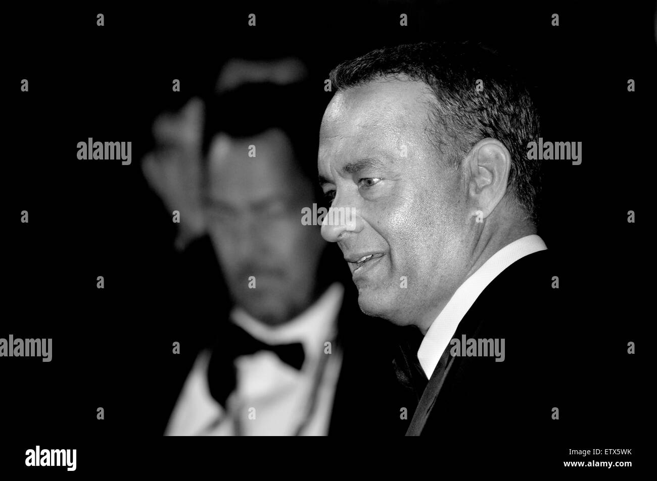 Tom Hanks at the Gala Premiere of 'Captain Phillips', London, 9th October 2013 - Stock Image