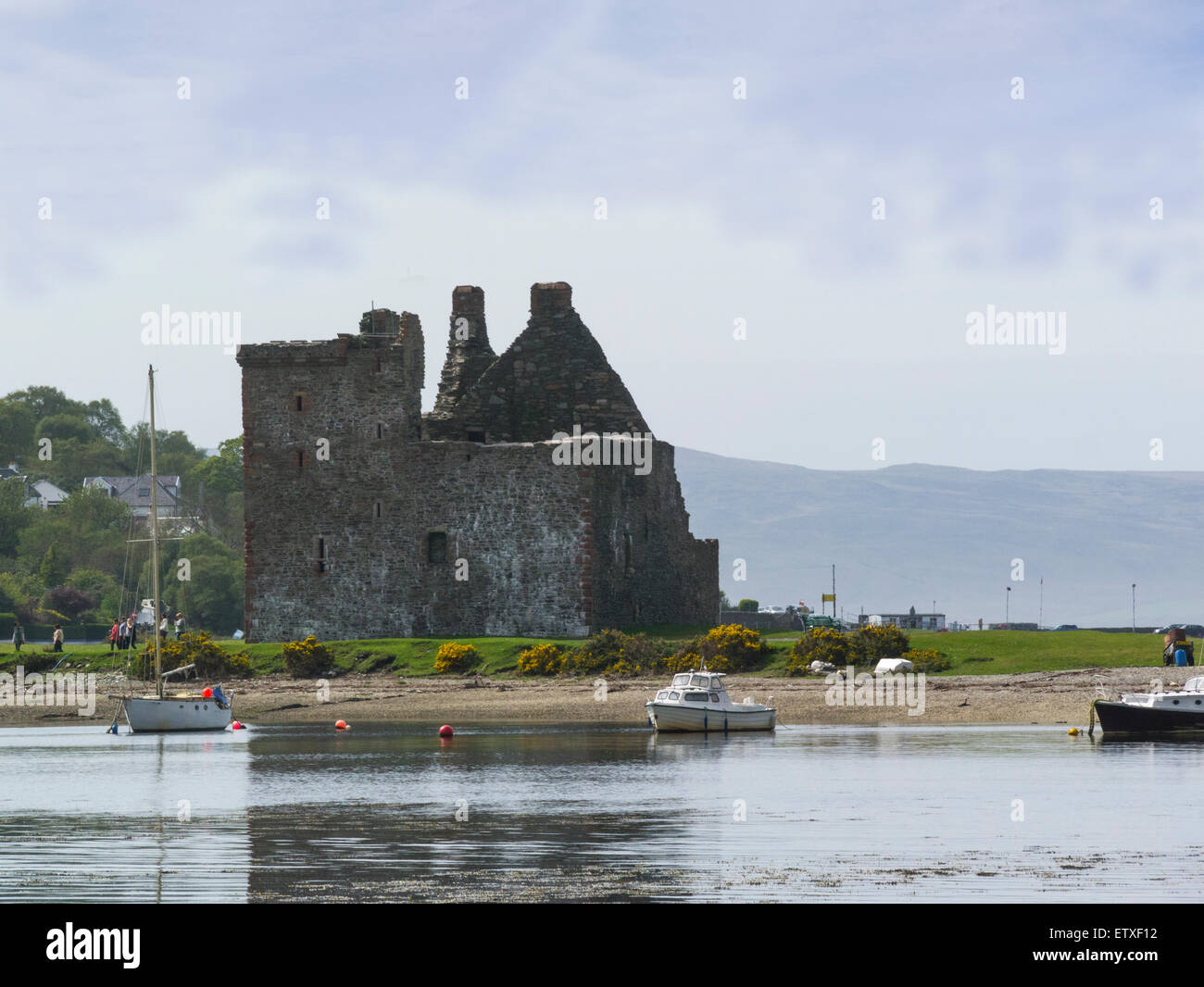 View Across Loch Ranza To Lochranza Castle A 16thc L Plan Tower House On A