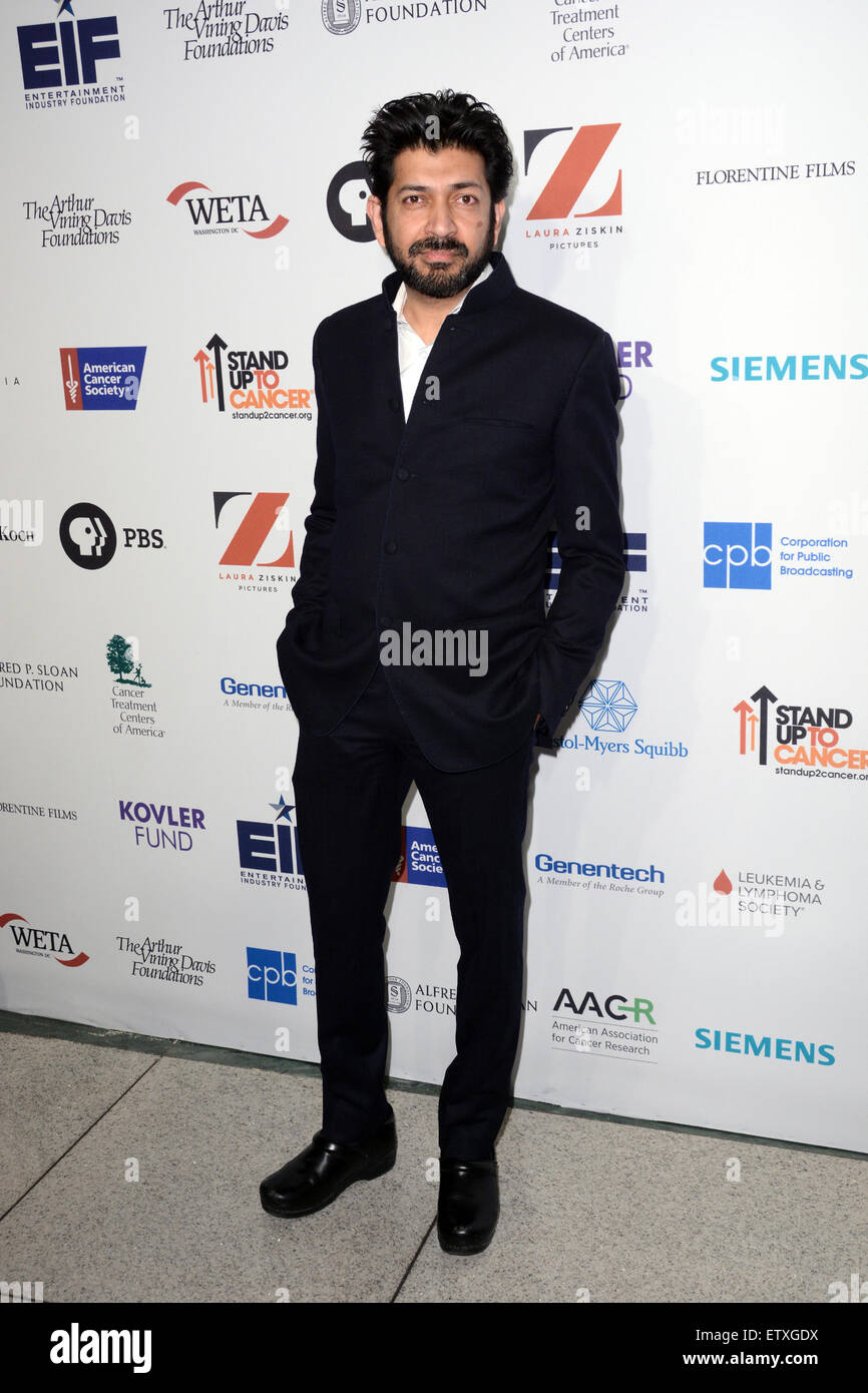 Cancer: The Emperor of All Maladies New York Screening - Red Carpet Arrivals  Featuring: Siddhartha Mukherjee Where: - Stock Image