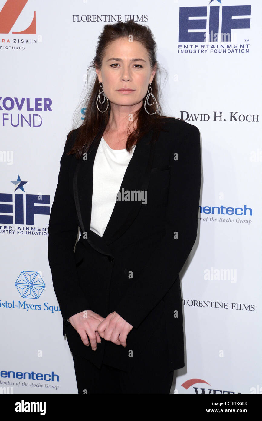 Cancer: The Emperor of All Maladies New York Screening - Red Carpet Arrivals  Featuring: Maura Tierney Where: New - Stock Image