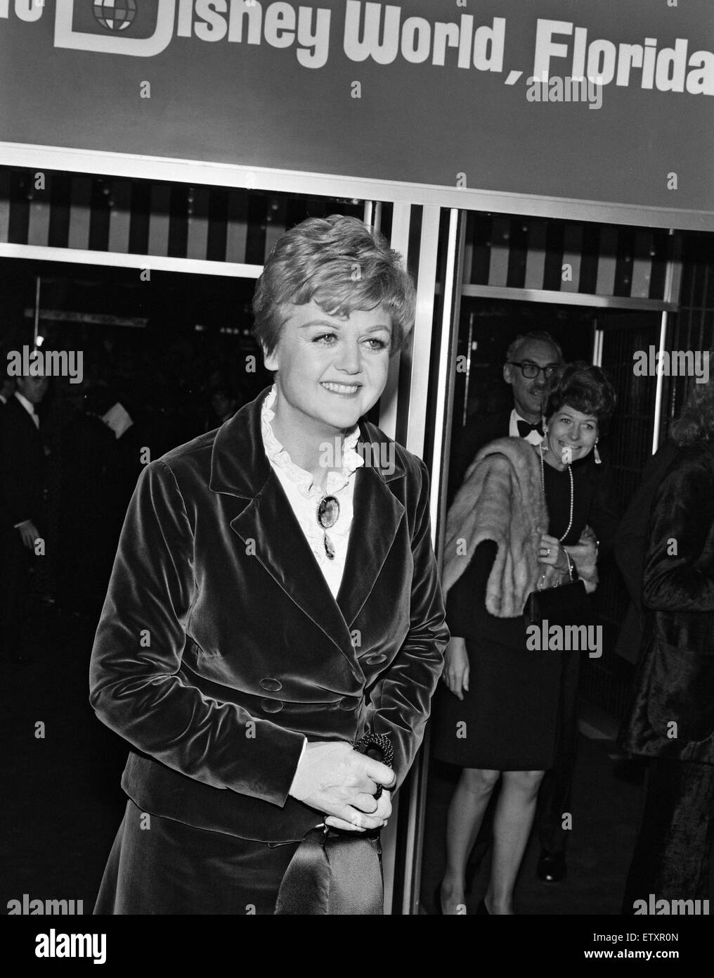 Angela Lansbury at the premiere of 'Bedknobs & Broomsticks' held at the Odeon, Leicester Square. 7th - Stock Image