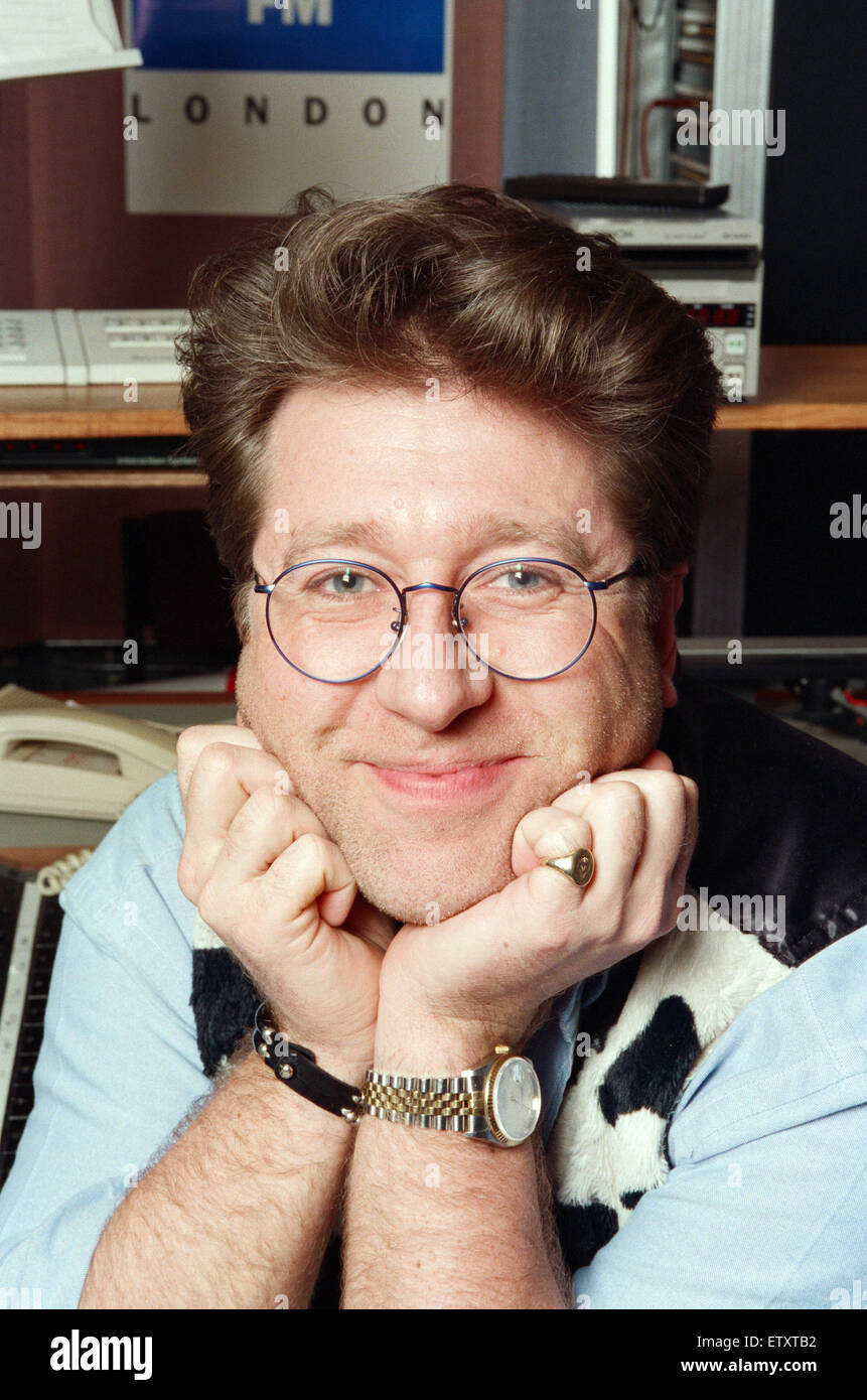 Capital Radio DJ Neil Fox, also known as Dr  Fox or Foxy, in