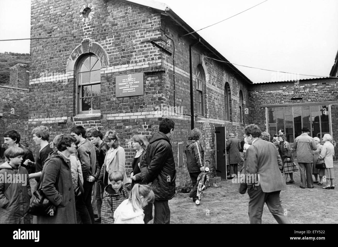 The Tom Leonard Mining Museum. 30th May 1983. - Stock Image