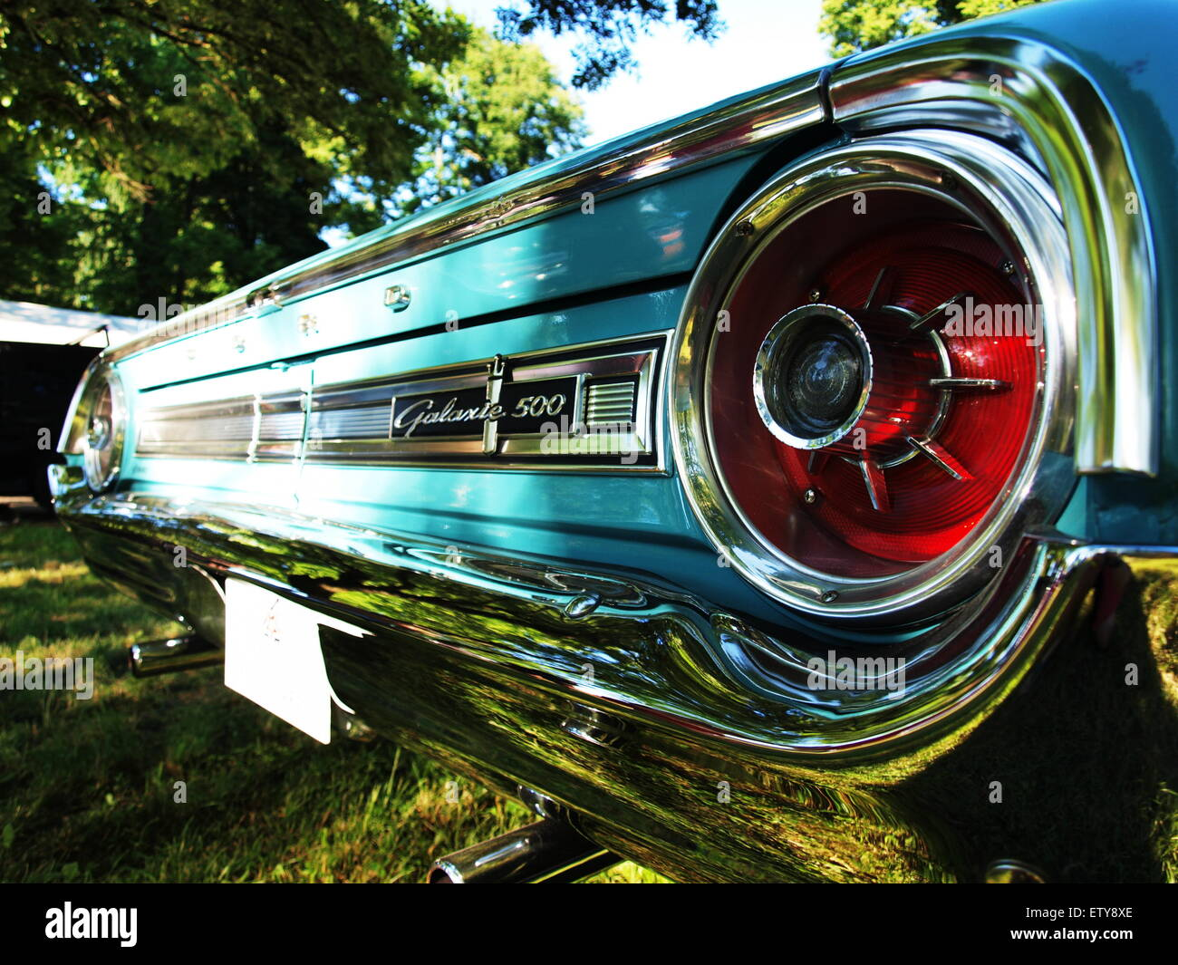 Old Beauty Never Dies Ford Galaxy 500 Stock Photo Alamy