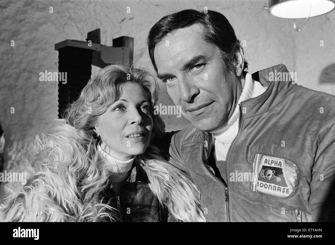 Space 1999, Science Fiction TV Series, filmed at Pinewood Studios, Iver Heath, Buckinghamshire, 25th September 1999. - Stock Image