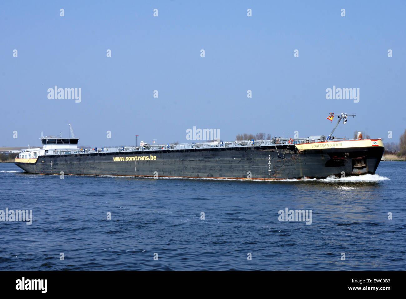 Somtrans XVIII - IMO 9372808 - ENI 02328172, Noordzeekanaal, Port of Amsterdam, pic3 Stock Photo