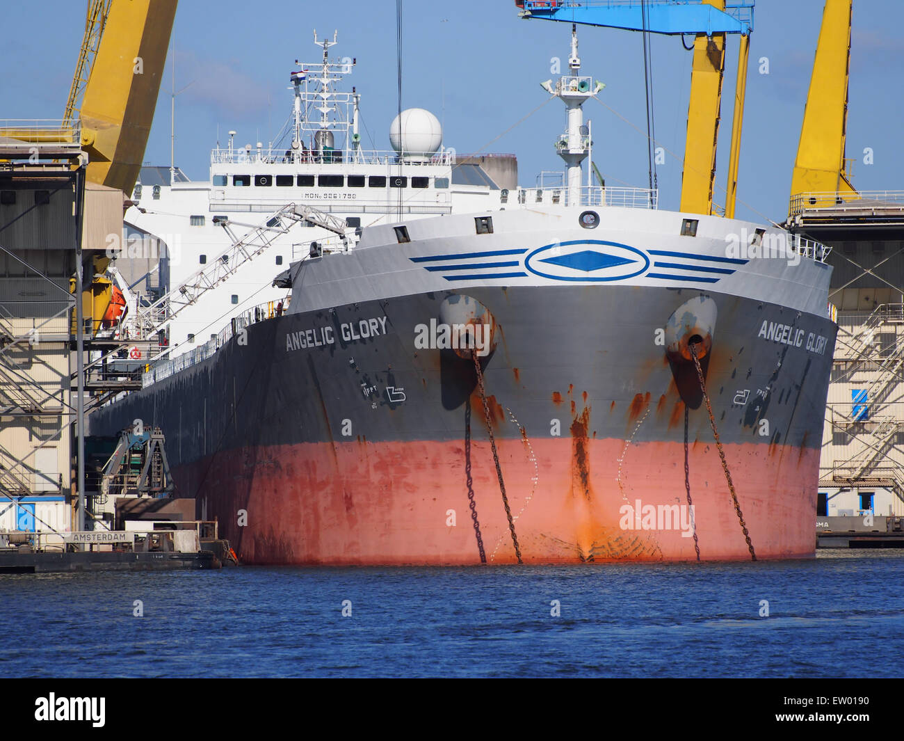 Angelic Glory - IMO 9261798 - Callsign SVCT, Vlothaven, Port of Amsterdam, pic2 - Stock Image