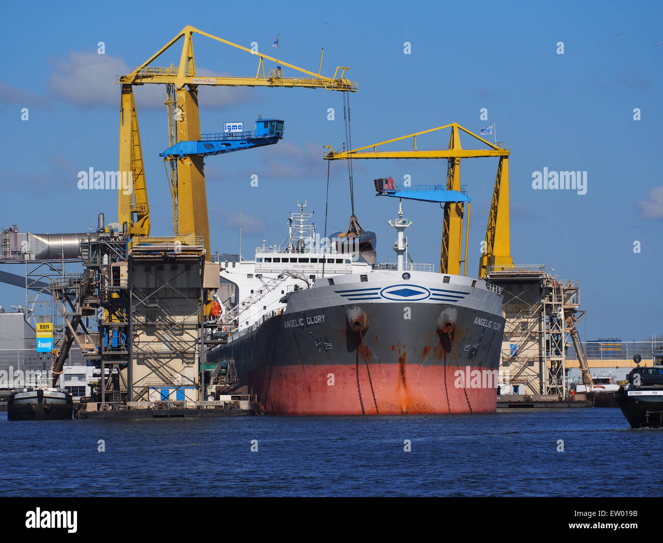 Angelic Glory - IMO 9261798 - Callsign SVCT, Vlothaven, Port of Amsterdam, pic3 - Stock Image