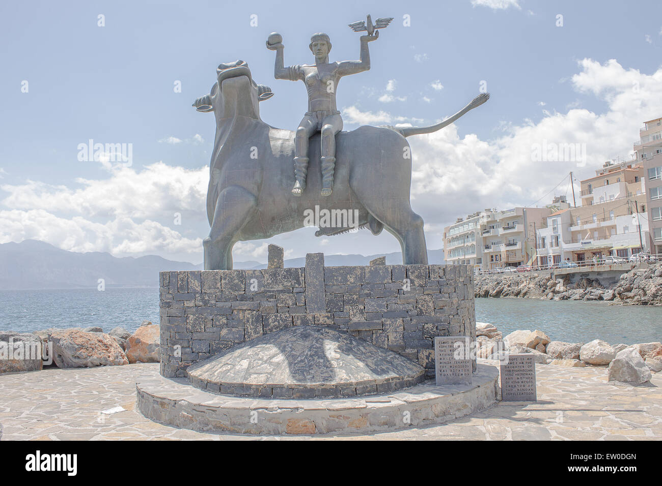 The Zeus Amp Europa Statue Is A Sculpture Created By Nikos