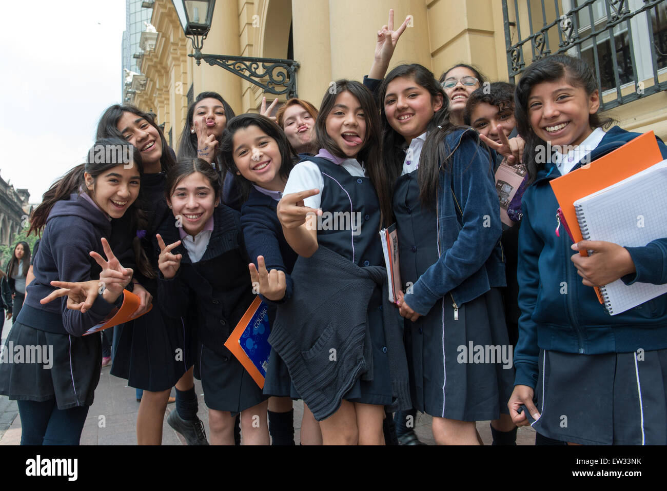 Santiago chile girls