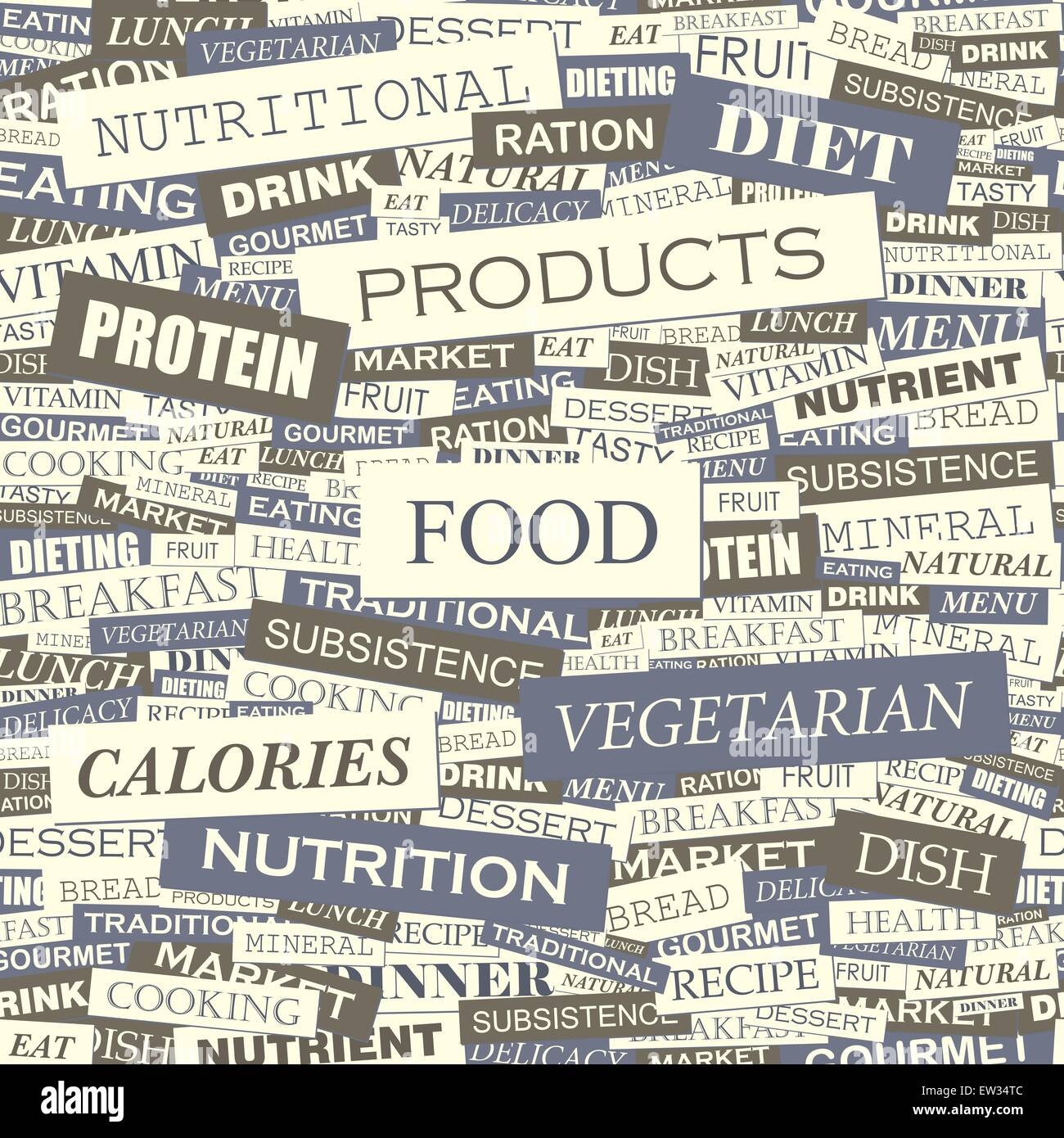 food words collage stock photos food words collage stock images