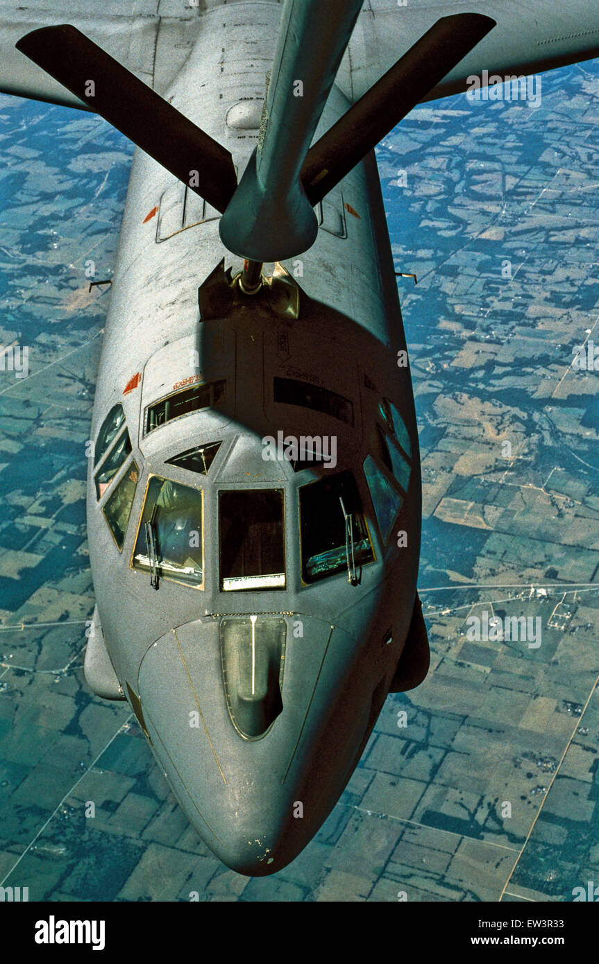 Sept. 24, 2013 - USAF B-52.The B-52A first flew in 1954, and the B model entered service in 1955. A total of 744 - Stock Image
