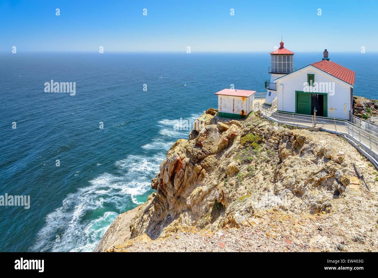 Beautiful Point Reyes Lighthouse, California - Stock Image