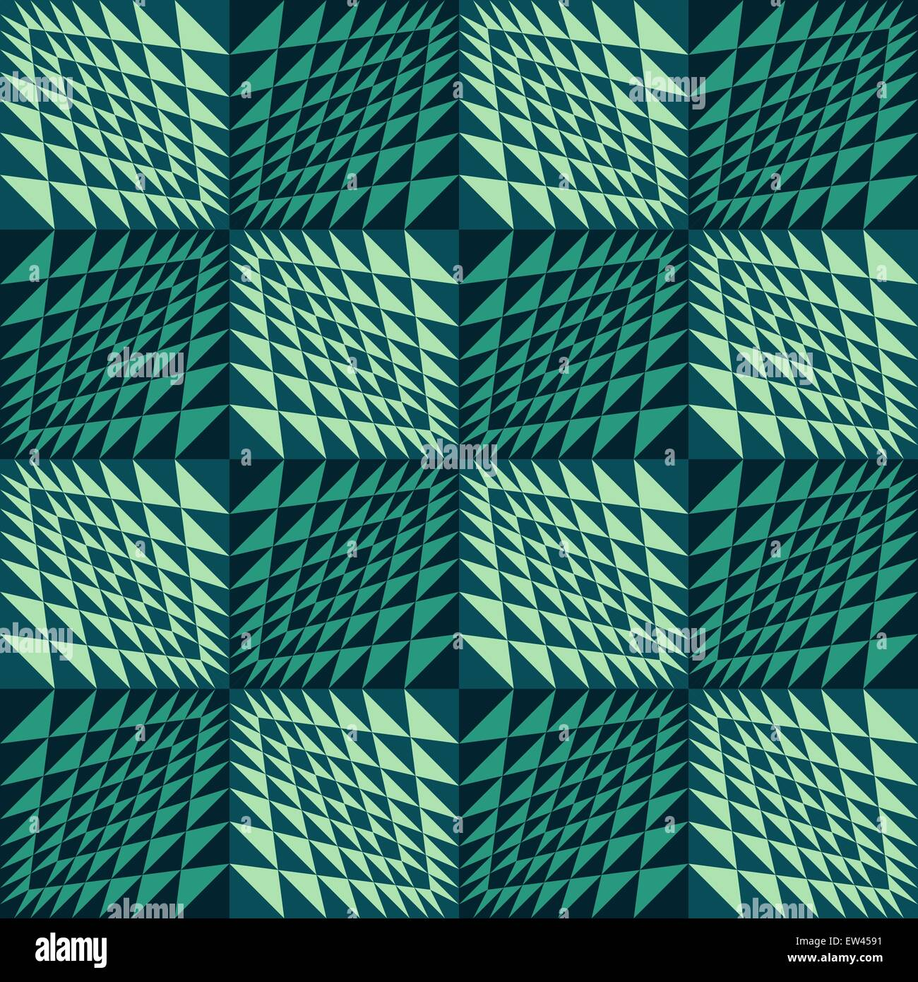 Abstract geometric background. Seamless wavy pattern. - Stock Vector