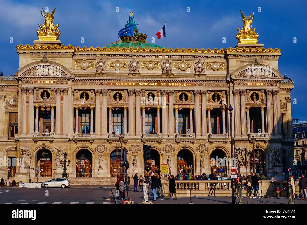 France, Paris, Garnier Opera - Stock Image