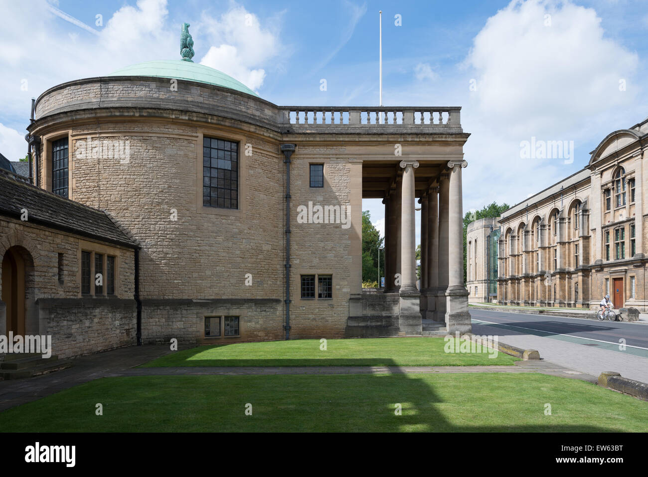 Oxford, United Kingdom of Great Britain, the Rhodes House in South Parks Road - Stock Image