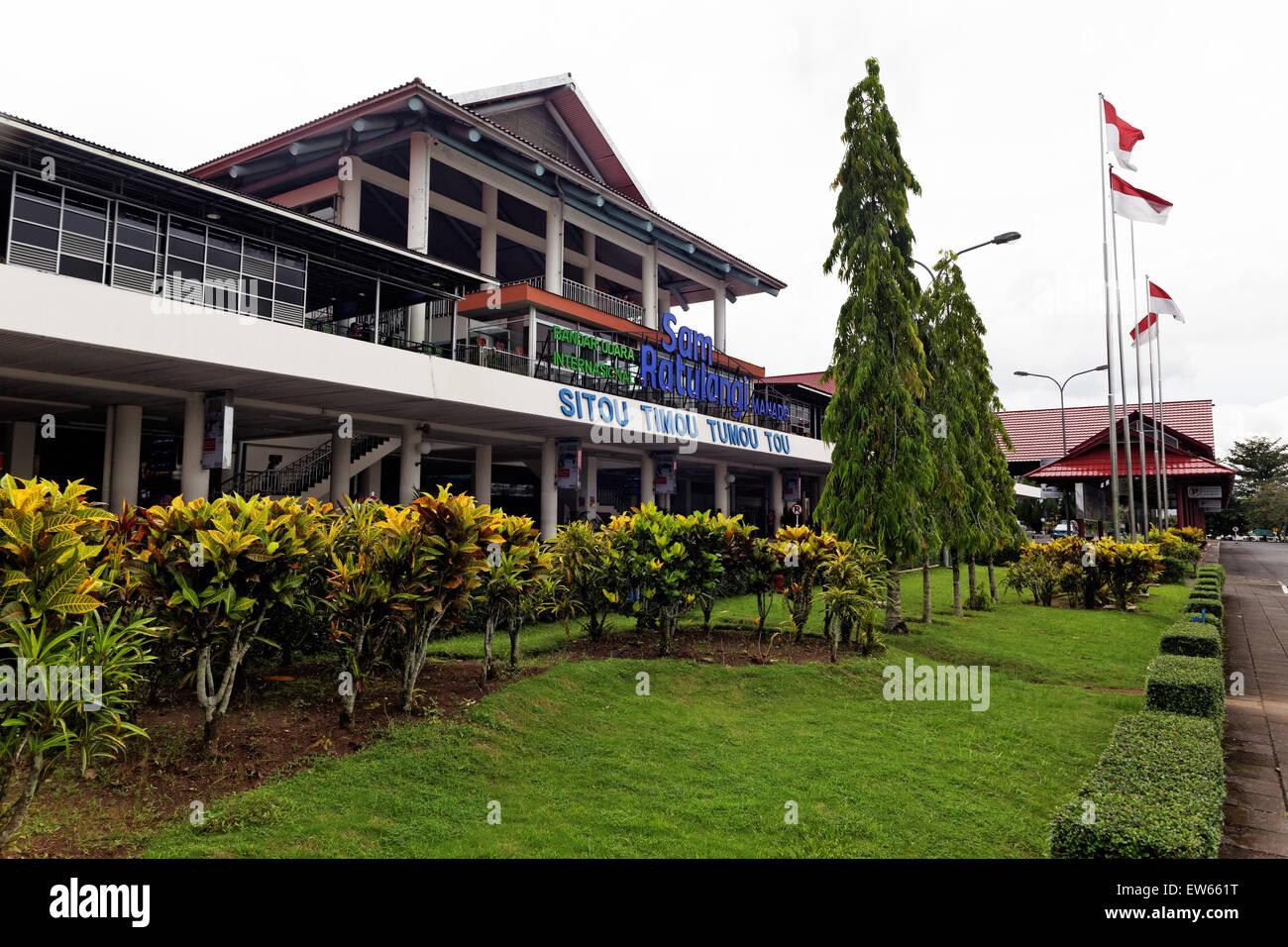 Sam Ratulangi International Airport, Manado, Sulawesi, Indonesia - Stock Image