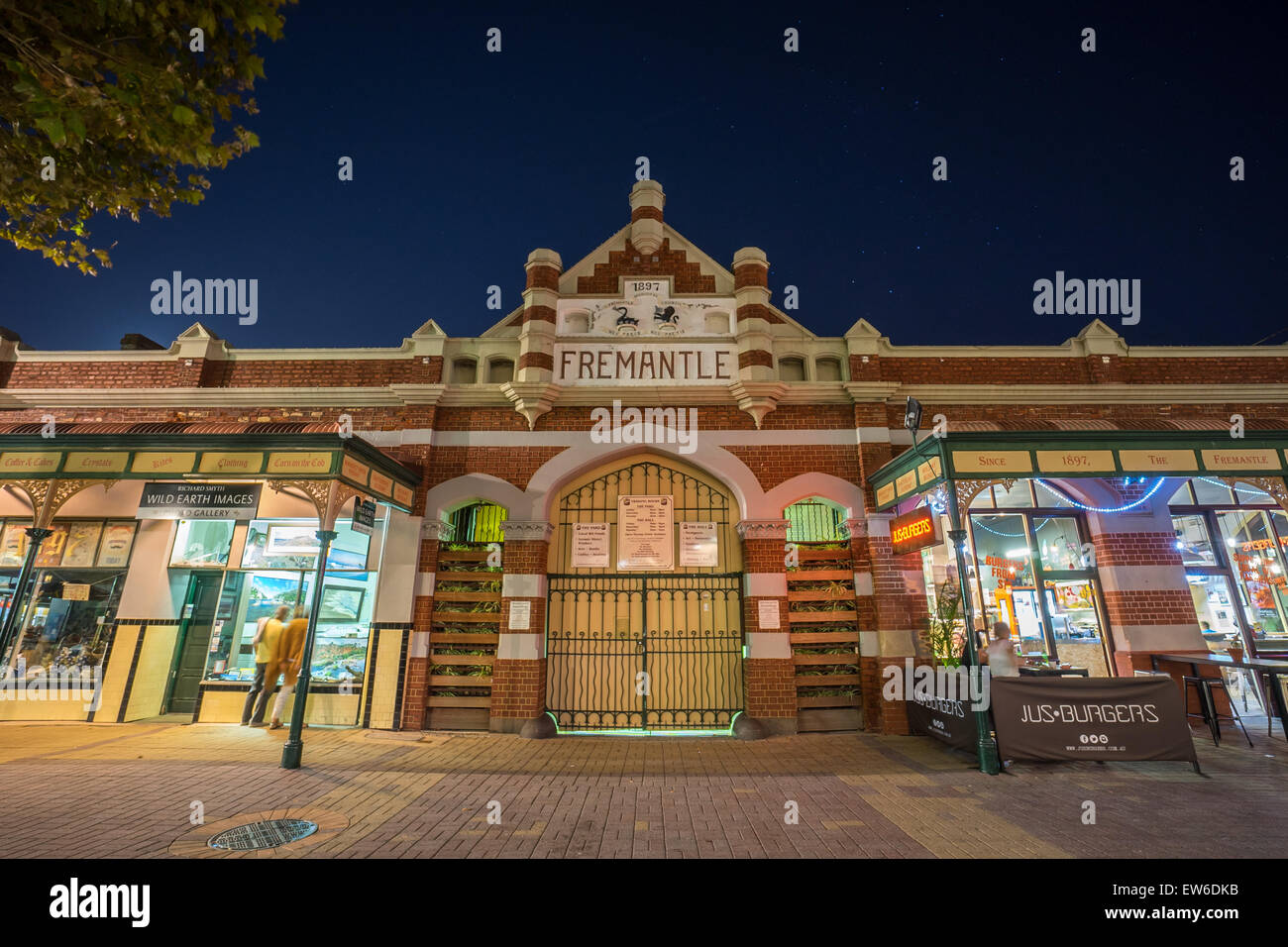 Fremantle, Perth, Australia - March 6, 2015 : Fremantle Market, a public market which built on 1897. - Stock Image
