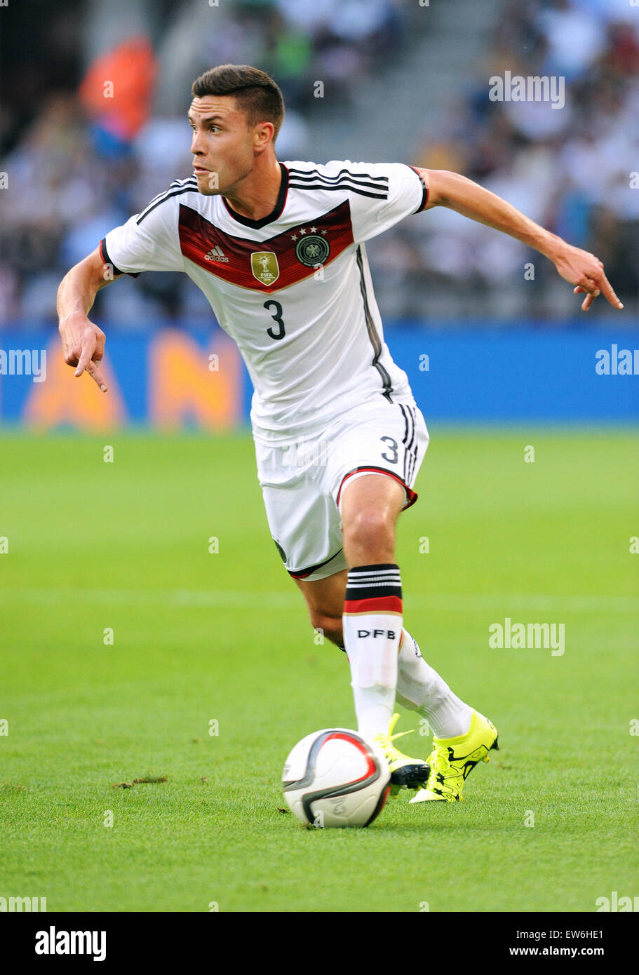 Friendlymatch at Rhein Energie Stadion Cologne: Germany vs USA: Jonas Hector (GER) - Stock Image